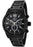 Invicta Men's 0794 II Collection Chronograph Black Dial Black Ion-Plated Stainless Steel Watch
