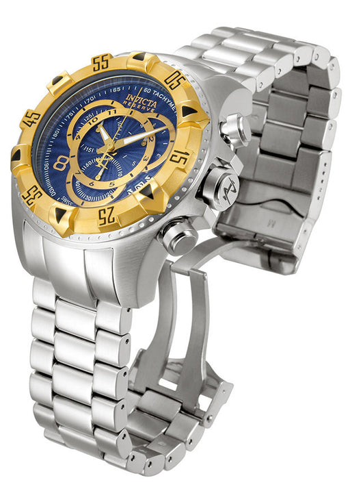 INVICTA 11004 Men's Excursion Reserve Chrono SS Blue Dial