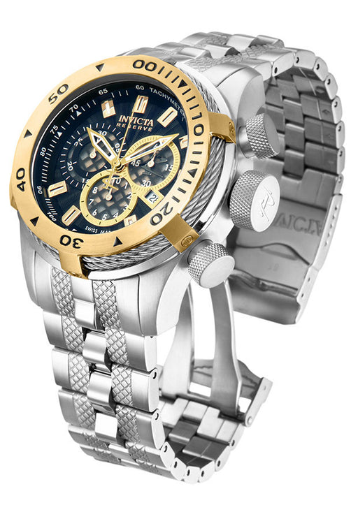 Invicta 11601 Men's Bolt Reserve Chrono SS Black Dial