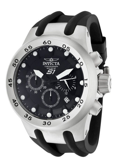 Invicta Men's 1506 Specialty S1 Chronograph Blue Dial Black Polyurethane Watch