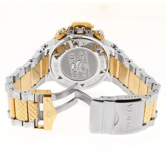 Invicta 15949 Men's Subaqua Noma III 18k Gold Plated & Steel Chrono Gold-Tone Dial