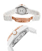 Swiss Legend Women's 20051-WWWRR Karamica White High Tech Ceramic Diamond Watch