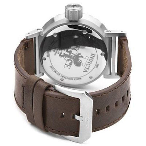 Invicta 14636 Men's I-Force Brown Genuine Leather Black Dial