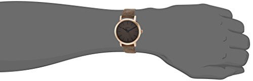 Timex 'Originals' Quartz Brass and Leather Dress Watch, Color:Brown (Model: TW2P96300ZA)