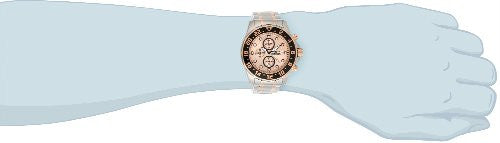 "Invicta Men's 15941 ""Specialty"" 18k Rose Gold Ion-Plating and Stainless Steel Bracelet Watch"