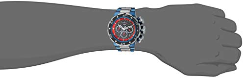 Invicta Men's 'Marvel' Quartz Stainless Steel Fashion Watch, Color:Grey (Model: 26005)