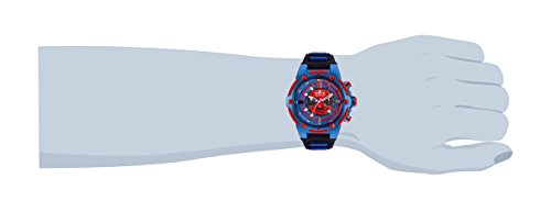 Invicta Men's 25688 Marvel Quartz Chronograph Red Dial Watch
