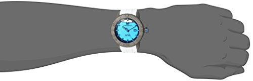 Technomarine Men's 'Reef' Automatic Titanium and Silicone Casual Watch, Color:Two Tone (Model: TM-516005)