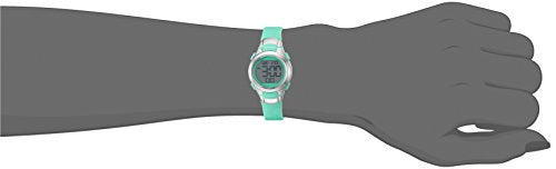 Armitron Sport Women's 45/7012TEL Digital Chronograph Teal Resin Strap Watch