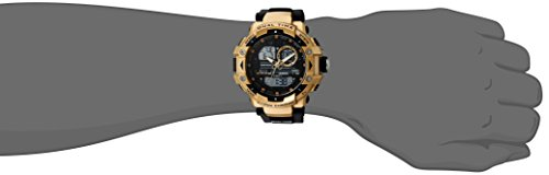 Armitron Sport Men's 20/5062BGD Analog-Digital Chronograph Gold-Tone and Black Resin Strap Watch