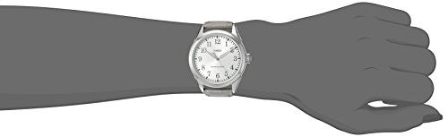 Timex Women's 'Main Street Collection' Quartz Brass and Leather Watch, Color:Silver-Toned (Model: TW2P994009J)