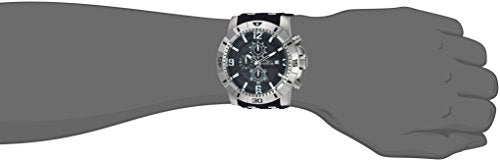 Invicta Men's 'Pro Diver' Quartz Stainless Steel Casual Watch, Color:Black (Model: 24962)