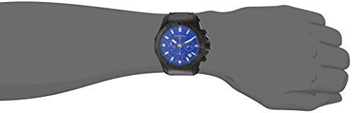 Swiss Legend Men's 'Islander' Swiss Quartz Stainless Steel Casual Watch, Color:Black (Model: 16199SM-BB-33)