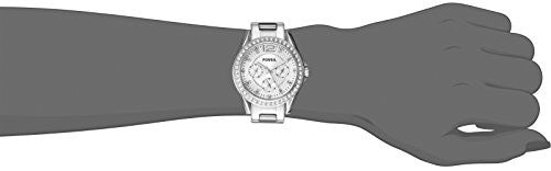 Fossil Women's ES3202 Riley Multifunction Stainless Steel Watch