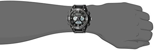 Armitron Sport Men's 20/5108BLK Analog-Digital Chronograph Black Resin Strap Watch