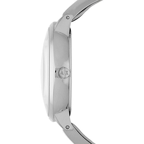 Armani Exchange Women's AX5300 White  leather Watch