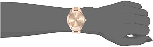 9d70651d9 Michael Kors Women's Mini Slim Runway Rose Gold-Tone Watch MK3513