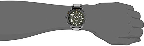 Nixon Men's A4862069 48-20 Chrono Analog Display Japanese Quartz Grey Watch
