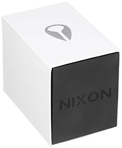 Nixon Men's 'Corporal SS' Quartz Metal and Stainless Steel Watch, Color:Black (Model: A3461032-00)