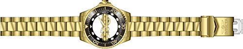 Invicta Pro Diver Mens 47mm Mechanical Ghost Bridge Gold-Plated Stainless Steel Bracelet Watch