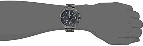 Timex Men's TW2P60800DH Intelligent Quartz Fly-Back Chronograph Stainless Steel Watch