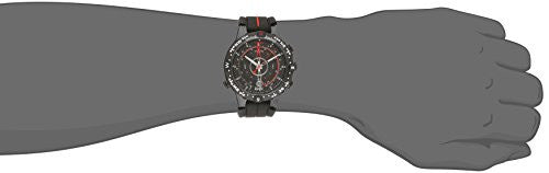 Timex Men's T2N720 Intelligent Quartz Tide Temp Compass Black Silicone Strap Watch