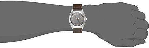Nixon Men's A0452066 Time Teller Quartz Brown Watch with Analog Display