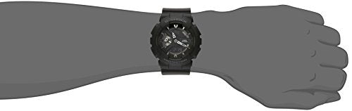Casio G-Shock X-Large Display Stealth Black Watch (GA110-1B) - Water and Shock Resistant