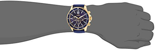 Invicta Men's 'Pro Diver' Quartz Stainless Steel and Polyurethane Casual Watch, Color:Blue (Model: 24392)