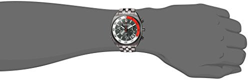 Bulova Men's 'Snorkel' Quartz Stainless Steel Watch, Color:Grey (Model: 98B253)
