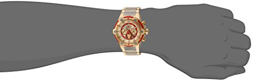 Invicta Men's 'Marvel' Quartz Stainless Steel Casual Watch, Color:Two Tone (Model: 25781)