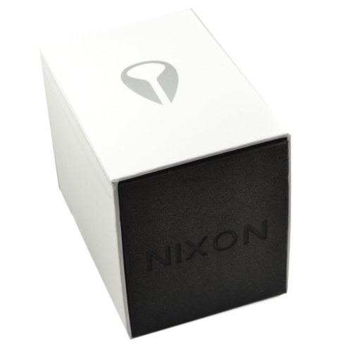 Nixon Re-Run Black Dial Stainless Steel Mens Watch A1581502