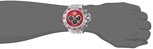 Invicta Men's 'Subaqua' Quartz Stainless Steel Casual Watch, Color:Silver-Toned (Model: 24448)