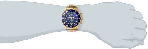 "Invicta Men's 15942 ""Specialty"" 18k Gold Ion-Plated Stainless Steel Bracelet Watch"