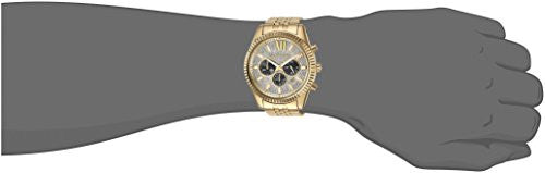 3a1e35197fa3 Michael Kors Men s Lexington Gold-Tone Watch MK8494 — RealWatches.com