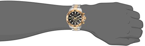 Invicta Men's 'Pro Diver' Quartz Stainless Steel Casual Watch, Color:Two Tone (Model: 22545)