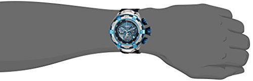 Invicta Men's 'Bolt' Quartz Stainless Steel and Silicone Casual Watch, Color:Black (Model: 21350)