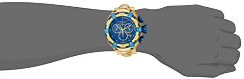 Invicta Men's 'Bolt' Swiss Quartz Stainless Steel Casual Watch, Color:Gold-Toned (Model: 21347)