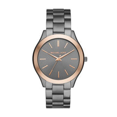 Michael Kors Men's Quartz Stainless Steel Casual Watch, Color:Grey (Model: MK8576)
