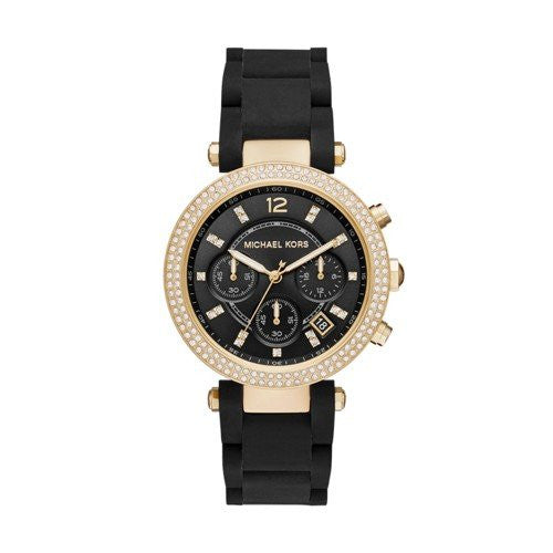 Michael Kors Women's Parker Black Watch MK6404