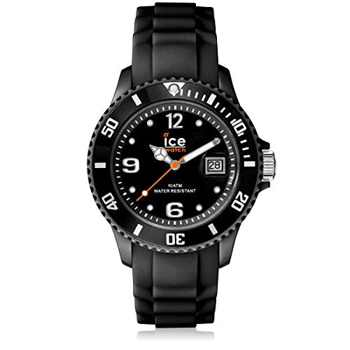Ice-Watch Men's SI.BK.B.S.09 Sili Collection Black Plastic and Silicone Watch