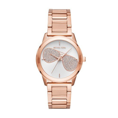 Michael Kors Women's Quartz Stainless Steel Casual Watch, Color:Rose Gold-Toned (Model: MK3673)