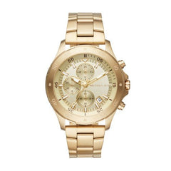 Michael Kors Men's Quartz Stainless Steel Casual Watch, Color:Gold-Toned (Model: MK8570)