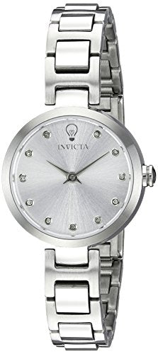 Invicta Women's 'Gabrielle Union' Quartz Stainless Steel Casual Watch, Color:Silver-Toned (Model: 22886)
