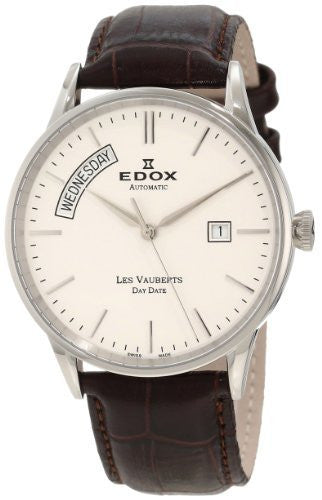 Edox Men's 83007 3 AIN Les Vauberts Automatic Watch