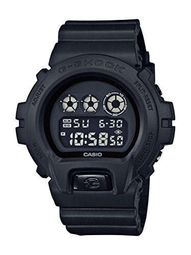 Casio G-Shock Men's Black Out Basic Series All Black Resin Watch DW6900BB-1