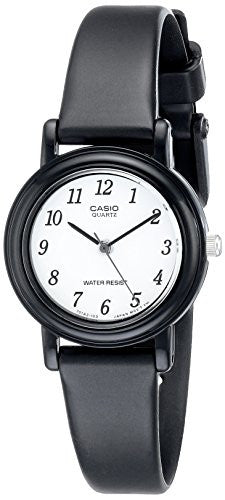 Casio Women's LQ139B-1B Classic Round Analog Watch