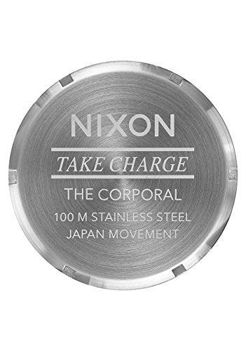 Nixon A346-2730 Men's Watch Corporal SS Silver 48mm Stainless Steel