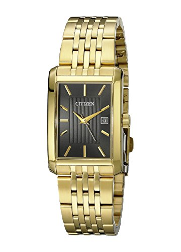 Citizen Men's Quartz Gold-Tone Watch with Date, BH1673-50E