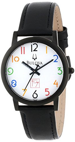 Bulova Men's 98A103 Frank Lloyd Wright White Dial Watch